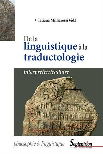 De la linguistique à la traductologie