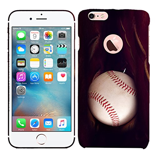 iPhone 6Plus Case/iPhone 6S Plus Fall-Handschuh Baseball Hartschale Kunststoff Back Cover. Slim Profil Cute Bedruckt Designer Schutzhülle Zum Aufstecken von Glisten