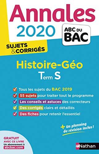 Annales ABC du Bac 2020 Histoire-Géographie Term S