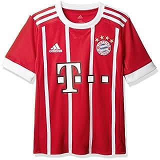 adidas Kinder FC Bayern Heim Trikot, FCB True Red/White, 140