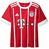 adidas Kinder FC Bayern Heim Trikot, FCB True Red/White, 176