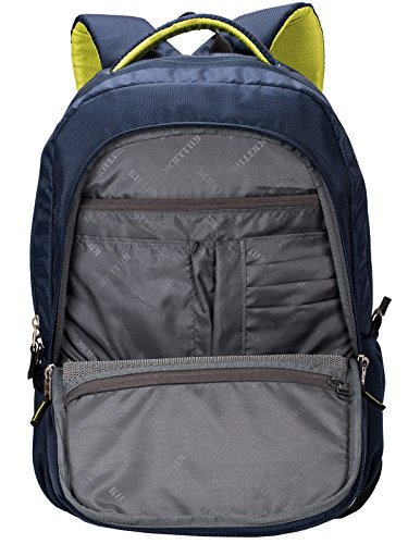 Killer Louis 38L Large Navy Blue Polyester Laptop Backpack with 3 Compartments Image 6