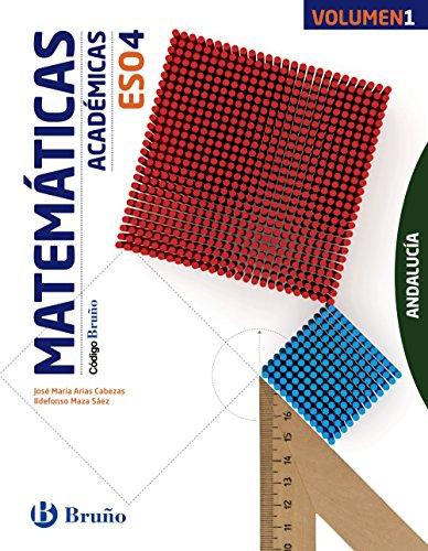 Código bruño matemáticas académicas 4 eso andalucía - 3 volúmenes