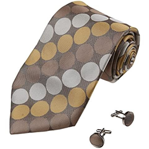 YAB1D01 Varios de los colores de los lunares regalos de cumplea?os Idea corbata de seda 2pt por Y&G