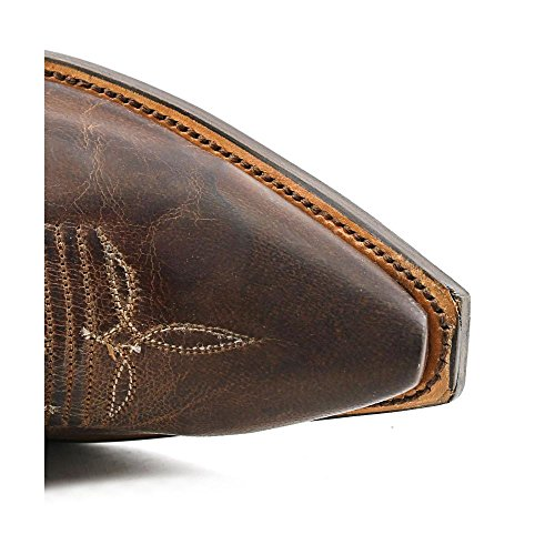 Lucchese , Bottes et bottines cowboy homme Marron - Tan