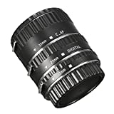 Rishil World Auto Focus AF Macro Extension Metal Tube 13MM 21MM 31MM For Canon EOS Lens