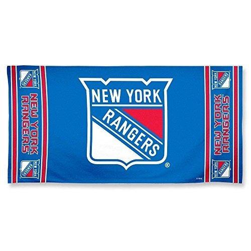 """Offizielles NHL """"New York Rangers"""" Strandhandtuch, Badetuch in 75x150 cm"""
