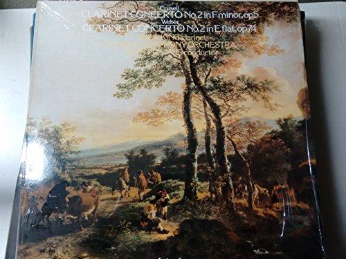 WEBER, Carl Maria von: Clarinet Concerto nr.2 - CRUSELL Grand Concerto nr.2, op.5 --King T. (clar), London Symphony Orchestra, Francis A. (cond)-HYP A 66088-Vinyl LP-HYPERION - Inghilterra-WEBER Carl Maria von (Germania); CRUSELL Bernhard Henrik-FRANCIS Alun (dir); KING Thea (clarinetto)