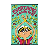 #10: Chumbak Everything Is Going To Be OK Magnet
