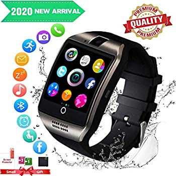 Smartwatch con Whatsapp,Bluetooth Smart Watch Pantalla táctil,Reloj Inteligente Hombre con Cámara, Impermeable Smartwatches Telefono Sport Fitness ...