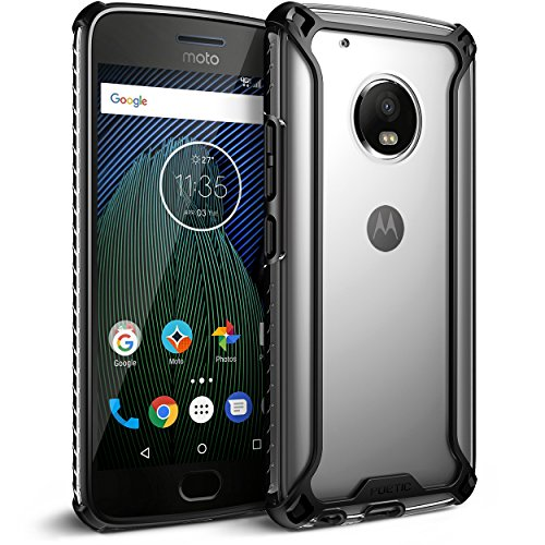 poetic-affinity-slim-fit-moto-g5-plus-clear-case-cover-with-anti-slip-side-grip-and-reinforced-corne