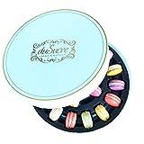 große Geschenkbox - 20 handgefertigte Macarons