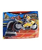 #6: Munchkin Land Racing Bike Speed Toy with Launcher