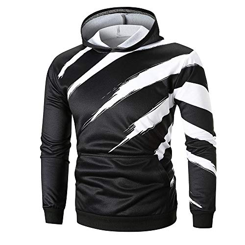 JYJM Herren 3D Gedrucktes Langärmeliges Hemd Männer T-Shirt Hoodies Männer Farbdruck Pullover Herren Casual Shirt Herren Herbst und Winter Warme Jacke Herrenmode Baseball Uniform Herrenjacke Herbst Winter Weste