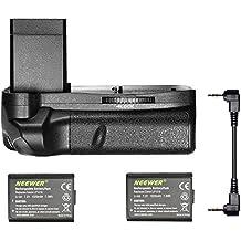 Neewer® Batería Grip/Empuñadura Vertical con 2 Piezas de Batería Reemplazo de LP-E10 para Canon EOS 1100D / 1200D / Rebel T3 / T5