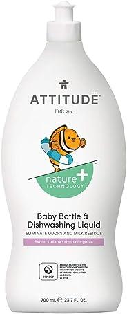 Attitude Baby Bottle & dishwashing liquid - Natural- Sweet Lullaby - 700ml