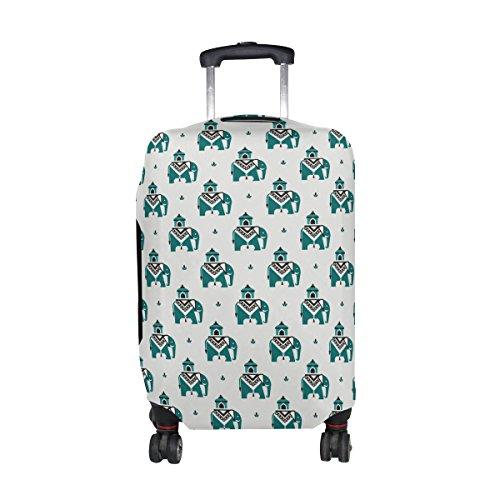 COOSUN Los elefantes en el patrón de impresión india del equipaje del...