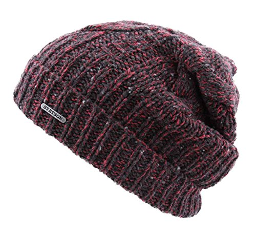 Stetson - Bonnet Long - 2 Coloris - Homme ou Femme Long Beanie Wool/Coton