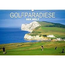 Golfparadiese der Welt (Wandkalender 2014 DIN A3 quer): Wie gemalt – Golf- und Landschaftsarchitektur (Monatskalender, 14 Seiten)