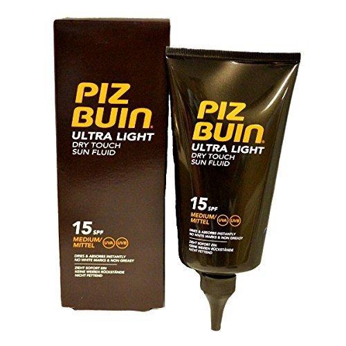 2 x Piz Buin Ultra Light Dry Touch Sun Fluid 150ml - SPF15