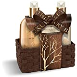 Grace Cole Warm Vanilla & Fig Perfect Pleasures Luxury Hand Care Set In Reusable Basket