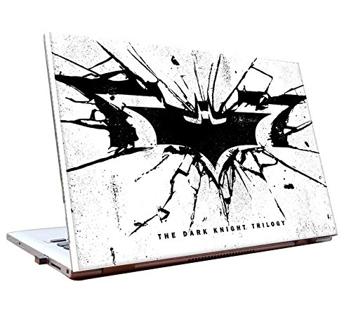 Tamatina Laptop skins 17.5 inch - Batman - Black Logo -The Dark Knight Trilogy - HD Quality - Dell-Lenovo-HP-Acer  available at amazon for Rs.168
