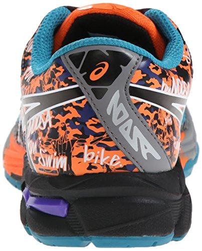 Asics Gel-Noosa Tri 10 GS Maschenweite Laufschuh Enamel Blue/Black/Orange