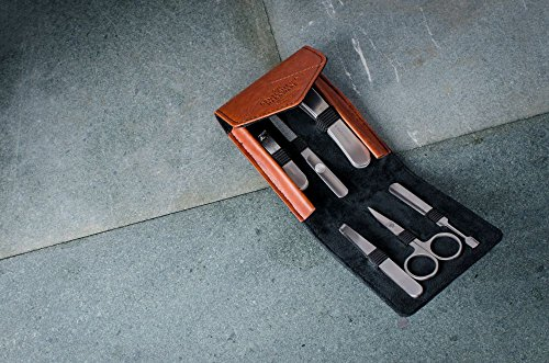 Gentlemen 's Hardware Herren anthrazit Maniküre-Set–Schwarz - 4