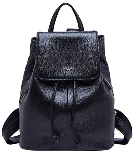 d82612041a BOYATU Zaino in pelle per donna da viaggio Zaino Scuola borsa moda Daypack