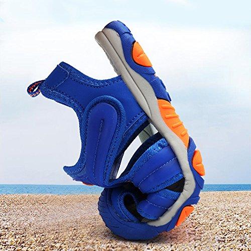 SITAILE Geschlossene Sandalen Outdoor Sportshuhe Kinder Schuhe Blau