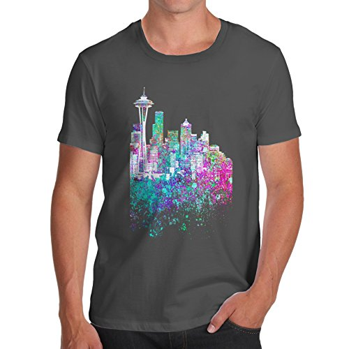 TWISTED ENVY Herren T-Shirt Dunkelgrau