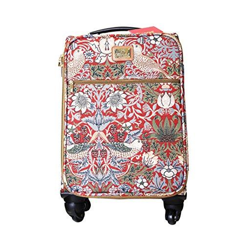 """Signare Tapestry 4 Wheel Kabine Gepäck / Handgepäck 21.3 """" (Westie) Erdbeerdieb rot"""