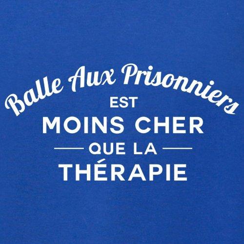 Balle aux prisonniers est moins cher que la thérapie - Femme T-Shirt - 14 couleur Bleu Royal
