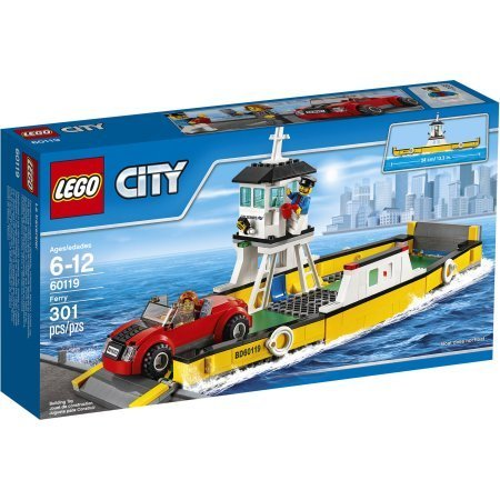 LEGO City Great Vehicles Ferry, 60119 by Generic