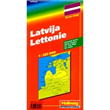 Lettonie : 1/325 000