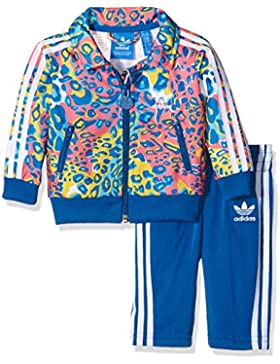adidasSoccer FirebirdChándal para niños, infantil, Trainingsanzug Soccer Firebird, Multicolor/Eqt Blue S16, 86