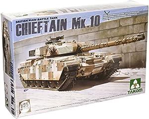 TAKOM Tak 2028-Modelo de Tanque de Batalla Principal británico Chieftain MK 10