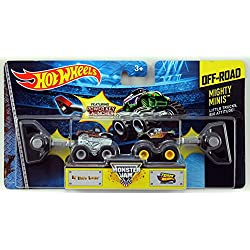 Hot Wheels Monster Jam Mighty Minis Off-Road - El Toro Loco & Team Hot Wheels Firestorm by Mattel
