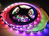goeswell LED individuell ansteuerbaren WS2801 DC5 V 5 Meter 32led-32leds/M LED Pixel Strips no-wasserdicht