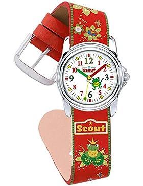 Scout Mädchen-Armbanduhr Analog Quarz Plastik 280301017