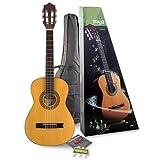 Stagg C505 Pack de Guitare classique Taille 1/4 Naturel