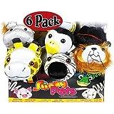 POOF-Slinky 8-1003BL Slinky Pets Plush Pals - 6 Pack by POOF-Slinky
