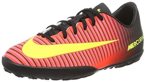 Nike Unisex Baby Jr Mercurialx Vapor Xi Tf Fußballschuhe Rot (Total Crimson/black/pink Blast/volt)