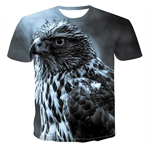 Star source Owl 3DT Shirt Tier T-Shirt 3D Männer T-Shirt Männer Casual Fitness T-Shirt @ 5XL_Lucky -