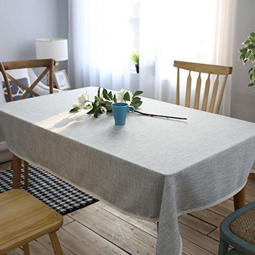 MoMo Baumwollstoff-Art-Tabellen-Tischdecke-Staub-Stoff,130x200cm -