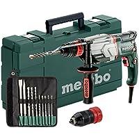 Metabo UHE 2660-2 800W 2500RPM Sin llave rotary hammers - Martillo perforador (Sin llave, 2,6 cm, 2500 RPM, 2,8 J, 4200 ppm, 1,3 cm)