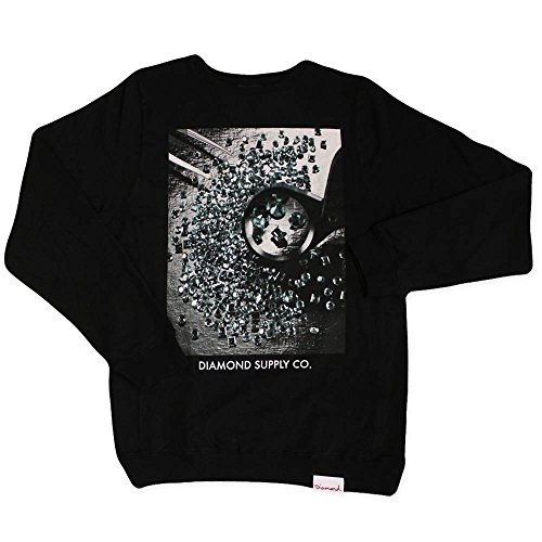 Diamond Supply Co Gem Quality Sweatshirt Black Black