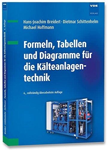 Formeln, Tabellen und Diagramme für die Kälteanlagentechnik (Kältetechnik)