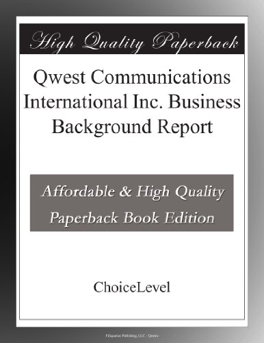 qwest-communications-international-inc-business-background-report
