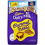 Cadbury Dairy Milk Caramel Nibbles Chocolate Bag, 120g